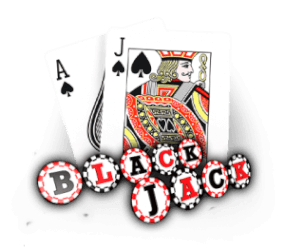 Blackjack met martingale